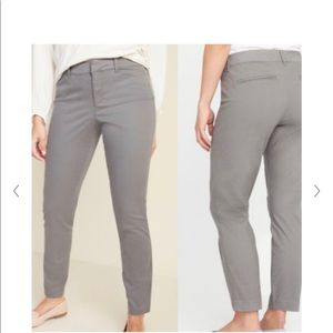 Old Navy Pixie gray chinos